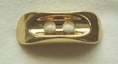 Gilt metallic effect toggle button