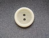 White two tone button