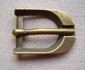 Antique metal buckle