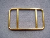 Gilt metal buckle