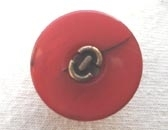 Dyed button with centre detail